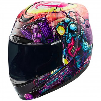 Casque Integral ICON Airmada Space Bass Face Purple
