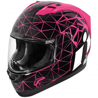 Casque Integral ICON Alliance Crysmatic Pink