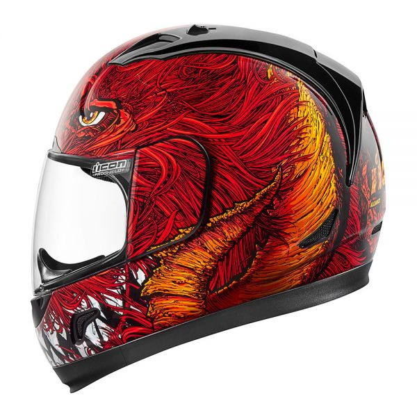 Casque Integral ICON Alliance Lucifer Red