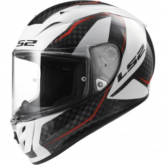 Casque Integral LS2 Arrow C Fury Carbon White FF323