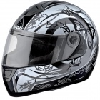 Casque Integral Airoh Aster-X Butterfly Gris