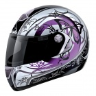 Casque Integral Airoh Aster-X Butterfly Rose