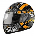 Casque Integral Airoh Aster-X Skull Orange
