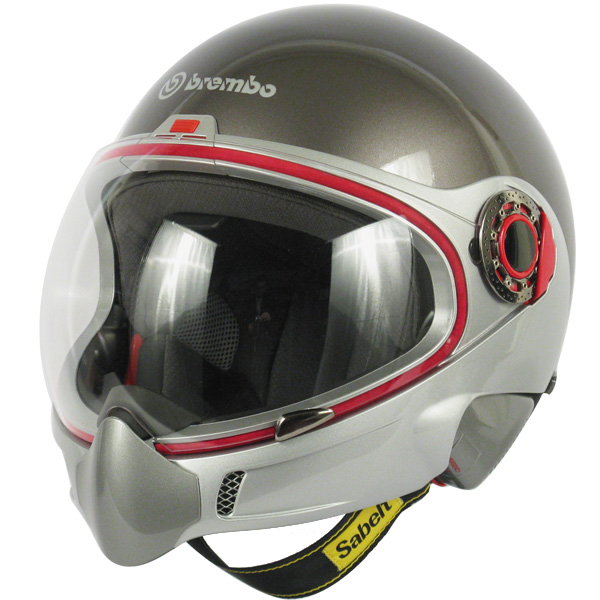 Casque Integral Brembo B.Tech Titane Brillant