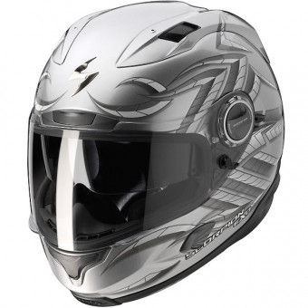 Casque Integral Scorpion EXO 1000 Bug Hypersilver