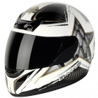 Casque Integral G-MAC Siege White Black Gold
