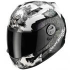 Casque Integral Scorpion EXO 1000 Air E11 Fantasia Blanc Cameleon