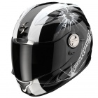 Casque Integral Scorpion EXO 1000 Air E11 High-Impact Noir Blanc