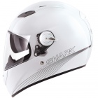Casque Integral Shark Vision-R Blank WHU