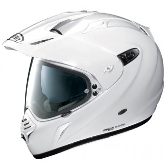 Casque Integral X-lite X-551 Start N-Com Metal Blanc