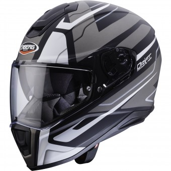 Casque Integral Caberg Drift Shadow Matt Black White Anthracite