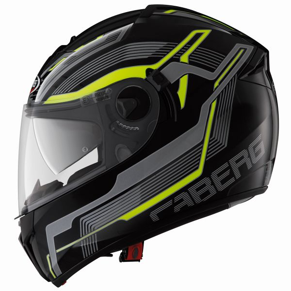 Casque Integral Caberg Ego Streamline Yellow