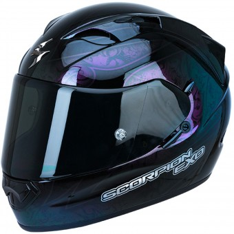 Casque Integral Scorpion Exo 1200 Air Fantasy Black Cameleon