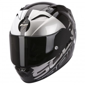 Casque Integral Scorpion EXO 1200 Air Quarterback Noir Argent