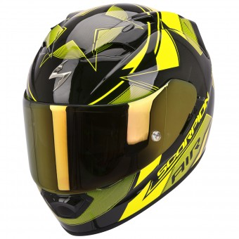 Casque Integral Scorpion EXO 1200 Air Stella Jaune Fluo