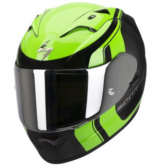 Casque Integral Scorpion EXO 1200 Air Stream Tour Noir Vert