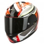 Casque Integral Scorpion EXO 2000 Evo Air Avenger Fluo Rouge