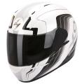 Casque moto Scorpion EXO 410 Air Altus Blanc Noir