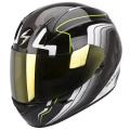 Casque moto Scorpion EXO 410 Air Altus Noir Blanc