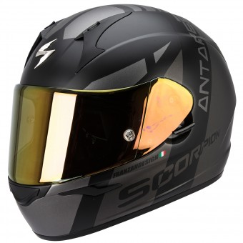 Casque Integral Scorpion EXO 410 Air Antares Matt Black Silver