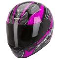 Casque moto Scorpion EXO 410 Air Rad Noir Rose