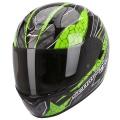 Casque moto Scorpion EXO 410 Air Rad Noir Vert