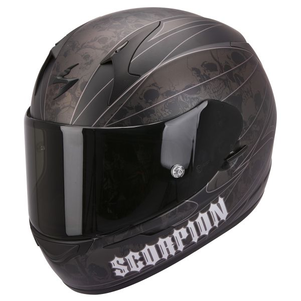 Casque Integral Scorpion EXO 410 Air Underworld Noir Argent