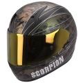 Casque moto Scorpion EXO 410 Air Underworld Noir Ca