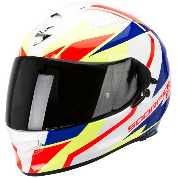 Casque Integral Scorpion Exo 510 Air Fujin White Red Blue