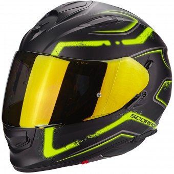 Casque Integral Scorpion Exo 510 Air Radium Matt Black Neon Yellow