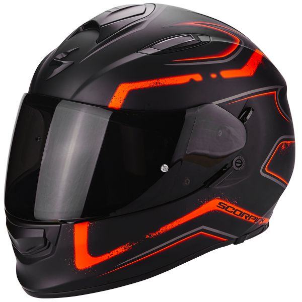 Casque Integral Scorpion Exo 510 Air Radium Matt Black Orange