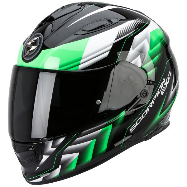 Casque Integral Scorpion Exo 510 Air Scale Black Green