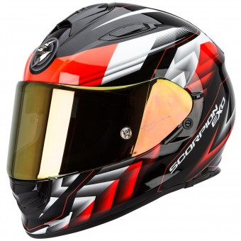 Casque Integral Scorpion Exo 510 Air Scale Black Neon Red
