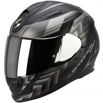 Casque Integral Scorpion Exo 510 Air Scale Matte Black Silver