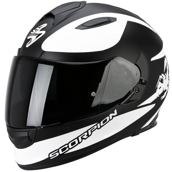 Casque Integral Scorpion Exo 510 Air Sublim Matt Black White