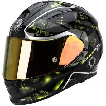 Casque Integral Scorpion Exo 510 Air Xena Black Neon Yellow