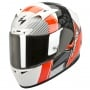 Casque Integral Scorpion EXO 710 Air Crystal Rouge Fluo