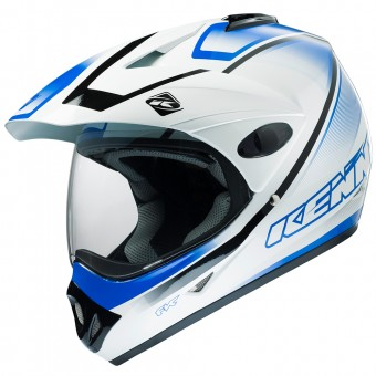 Casque Integral Kenny Extreme White Blue
