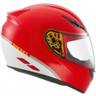 Casque Integral Diesel Full-Jack Rouge Blanc