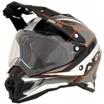 Casque Integral AFX FX-41DS Eiger Orange