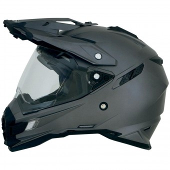 Casque Integral AFX FX-41DS Frost Grey