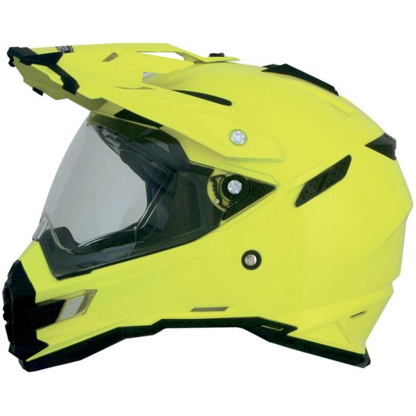 Casque Integral AFX FX-41DS Hi-Vis Yellow