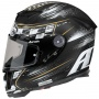 Casque Integral Airoh GP500 Check Black Matt