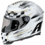 Casque Integral Airoh GP500 Check White