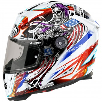 Casque Integral Airoh GP500 Grim White