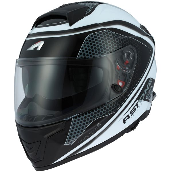 Casque Integral Astone GT 1000F Hexa Black