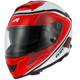 Casque Integral Astone GT 1000F Hexa Red