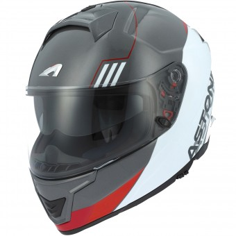 Casque Integral Astone GT 1000F Split Red White