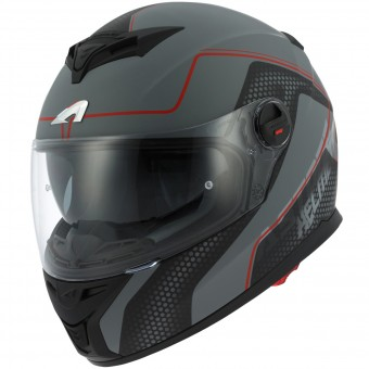 Casque Integral Astone GT 800 Alveo Red Grey