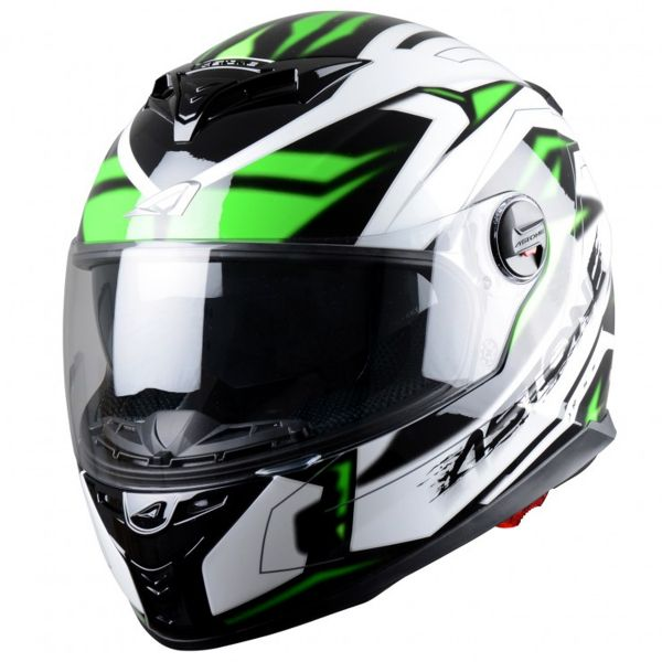 Casque Integral Astone GT 800 Futura Black Green